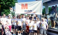 Moduls Engineering team participates in Lalletecom Riga Marathon