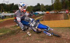 """Yamaha uzaicina savai komandai pievienoties  """"MX Moduls"""" sportistu Mairi Pumpuru"""
