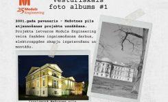 """""""Vēsturiskais foto albums"""" – Mežotnes pils"""