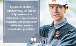 Mūsu komanda: elektroapgādes speciālisti