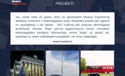 Mūsu pieredze: elektroapgādes projekti
